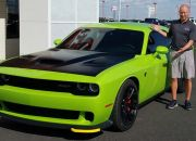 After...tint, ScotchGard, hood wrap on a special edition Hellcat